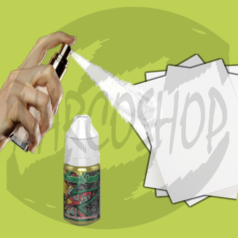 Buy Cannabinoid C Liquid Spray on Paper