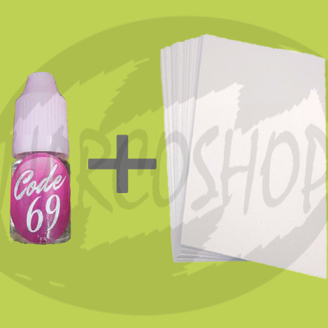 Buy Code 69 Liquid Incense On Paper