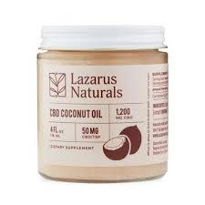 Buy Lazarus CBD Coconut Oil(bluebird botanicals)