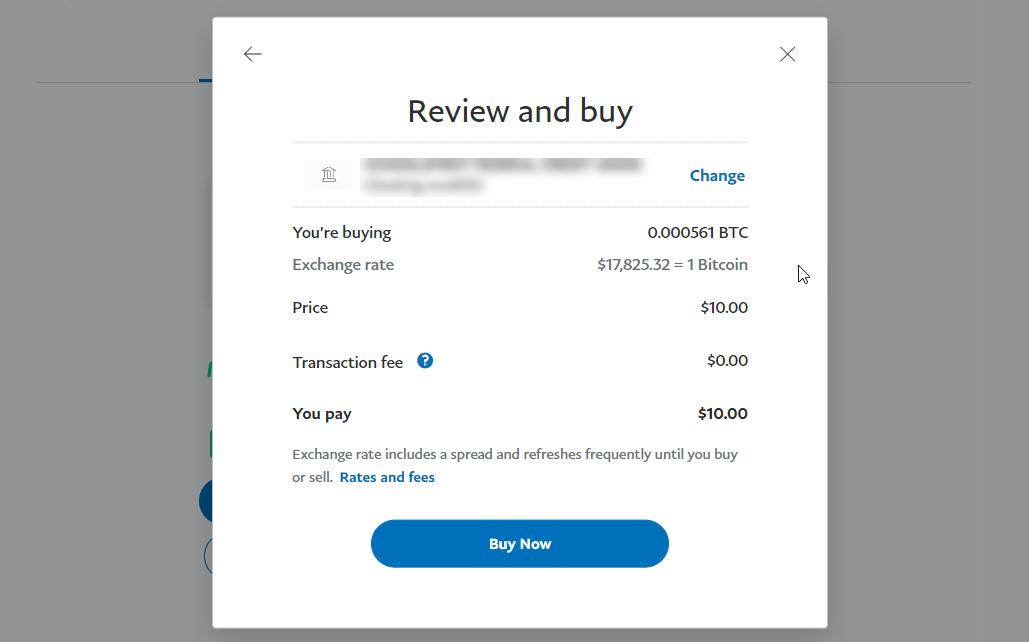 How to Pay Bitcoins using your Paypal Account img5