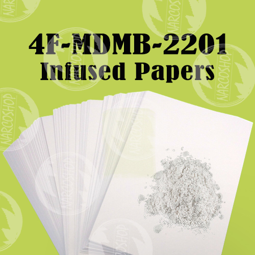 4F-MDMB-2201 Liquid Infused Papers