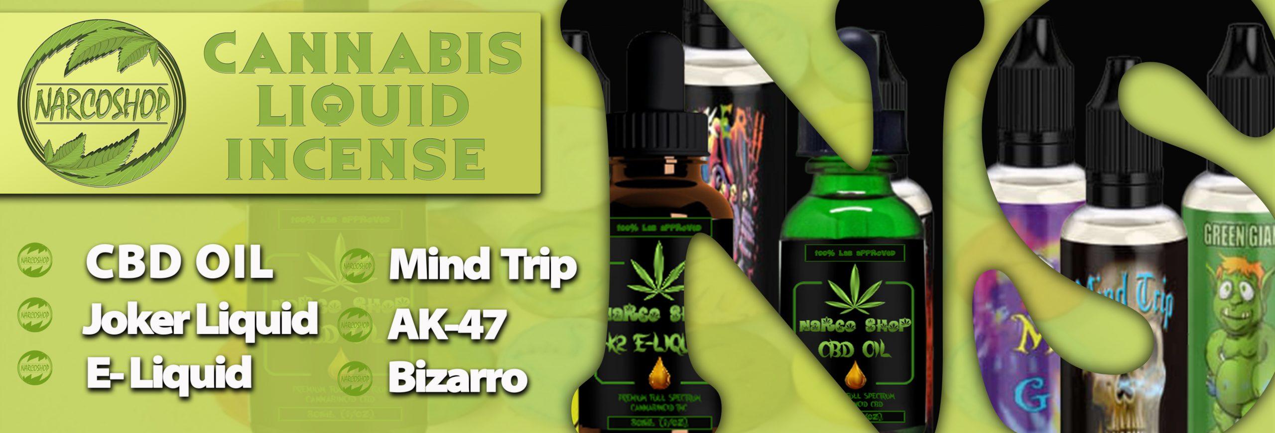 cannabis liquid incense